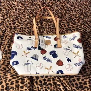 Brand New Dooney And Bourke Dodgers Tote